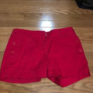 Red Nautica Shorts